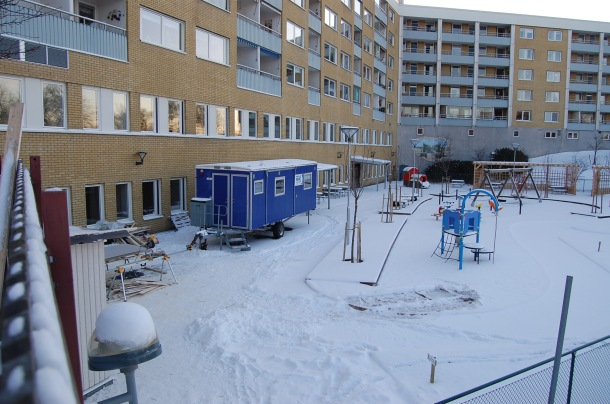 Astor Bygg bygger förskola på Seglaregatan i Göteborg.